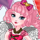Ever After High C.A Cupid Birthday Ball Dress Up Game