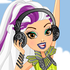 Ever After High Dragon Games Melody Piper Dress Up Game