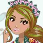 Ever After High Jillian Beanstalk Dress Up Game