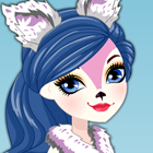 Ever After High Epic Winter Snow Pixies Foxanne Dress Up Game