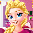 Elsa Shades of Pink Dress Up Game