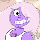 Crystal Gem Amethyst Dress Up Game