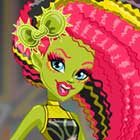 Monster High Electrified Venus McFlytrap Dress Up Game