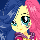 My Little Pony Legend of Everfree Sweetie Drops Dress Up Game