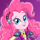Crystal Guardian Pinkie Pie Dress Up Game