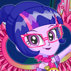 My Little Pony Legend of Everfree Crystal Wings Twilight Sparkle Dress Up Game