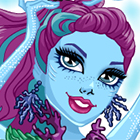 Monster High Great Scarrier Reef Posea Reef Dress Up