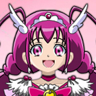 Smile Pretty Cure Cure Happy Fashion Style Dress Up Game