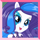 Rarity Rainbooms Style Dress Up