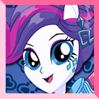 Rarity Rocking Hairstyle Dress Up