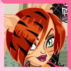 Monster High Toralei Stripe Dress Up