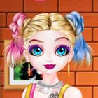 Fantabulous Emancipation of Harlequin Dress Up Game