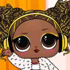 LOL Surprise Winter Disco Dress Up Game