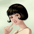 Vintage Fashion Dress Up Game