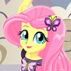 Dance Magic Fluttershy Dress Up Game