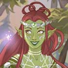 Jogo de Vestir da Azaleas Dolls Elfa Mágica