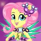 Jogo de Vestir Crystal Guardian Fluttershy