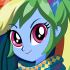 Legend of Everfree Rainbow Dash