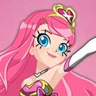 LoliRock X Pretty Cure Crossover Dress Up Game
