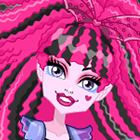 Jogo de Vestir Monster High Electrified Supercharged Ghoul Draculaura