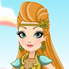 Jogo de Vestir Ever After High Dragon Games Ashlynn Ella
