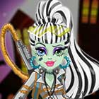 Monster High Electrified High Voltage Frankie Stein Dress Up Game