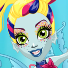 Monster High Great Scarrier Reef Glowsome Ghoulfish Lagoona Blue