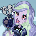 Monster High Coffin Bean Twyla Dress Up Game