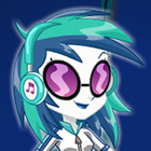 Jogo de Vestir Equestria Girls Legend of Everfree DJ Pon-3