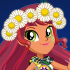 My Little Pony Legend of Everfree Gloriosa Daisy Dress Up Game