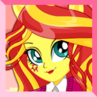 Sunset Shimmer School Spirit Style DressUp