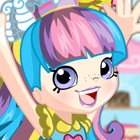 Shopkins Shoppies Rainbow Kate Dress Up