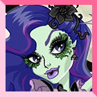 Monster High Amanita Nightshade Dress Up