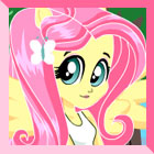 Equestria Girls Fluttershy Dress Up
