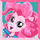 Equestria Girls Pinkie Pie Dress Up