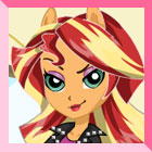 Equestria Girls Sunset Shimmer Dress Up