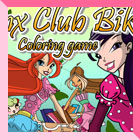 Winx Club Bikes Coloring Game