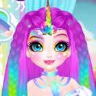 Jogo de Vestir Miss Unicornio Charmosa