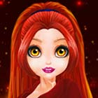 Princess Flame Phoenix Dress Up Game